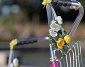 Petal Brite reflective primrose bike streamers