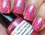 I Was A Mermaid Once ~ from Creature Of The Sea collection glitter 5 Free Valentine's Day Polish