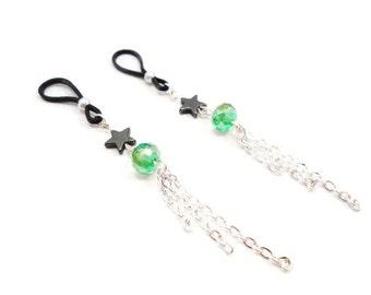 Shooting Star Nipple Jewelry Non Piercing Intimate Jewelry