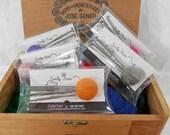 Felting needles, Needle felting needles set of 6 spiral needles, twisted felting needles, 3 sizes or single size needles, 40, 38, 36