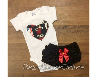 Miami Heat Girls Outfit