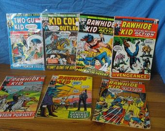 7 vintage comics