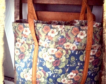 MUMM   ///   Floral Large Tote
