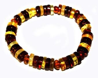 NATURAL BALTIC AMBER Bracelet Adult