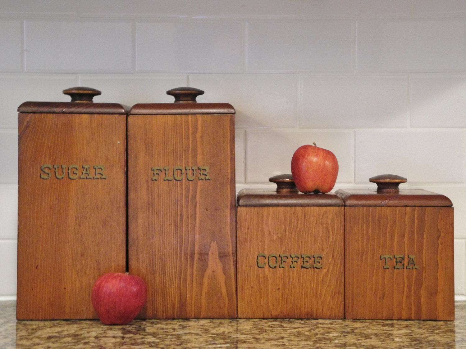 Wooden Kitchen Canister Sets 28 Images Tea Coffee