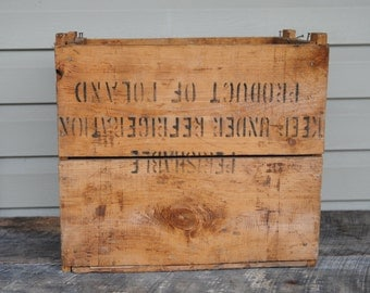 Vintage Pullman - Krakus Ham Shipping Wood Crate - Box