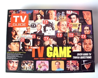 Vintage TV Guide TV Game, Trivia Inc., Near Mint