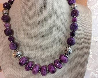 Purple Sugilite Necklace
