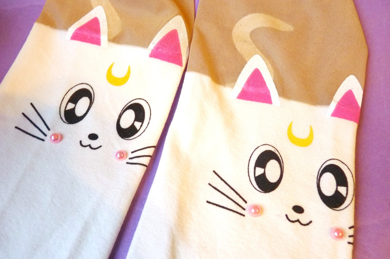 Sailor Moon Cat Tattoo