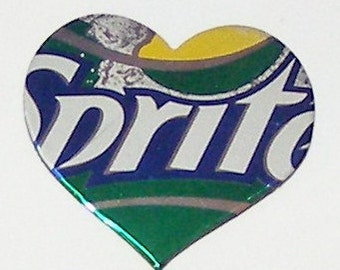 1 Heart Magnet - Sprite - Lemon Lime