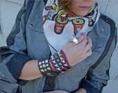 Big Red Cuff - Vintage Punk