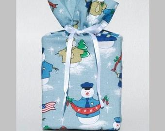 Tissue Box Cover Snowman Kleenex Box Holder Patriotic Tissue Box Cover Winter Tissue Box Holder Christmas Kleenex Box Cover Holiday Decor