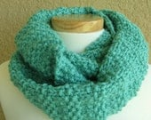 Caribbean Green Infinity Scarf