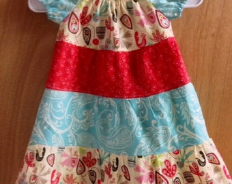 Peasant Dress, size 4t