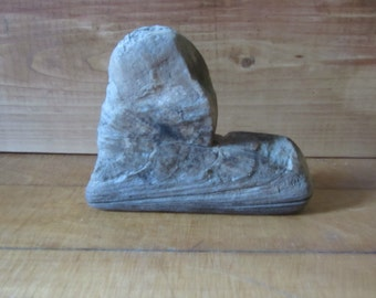 Knotty Driftwood Heart Handcrafted One of A Kind Original