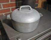 Wagner Ware Magnalite 4248P 5 Qt Dutch Oven Roaster w Lid Cleaned and Ready to Use