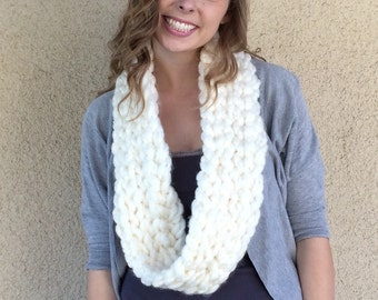 "The ""Phoebe"" chunky scarf"