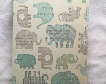 Passport Cover Elephant (#183)