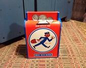 Tin Vintage Mailbox Bank