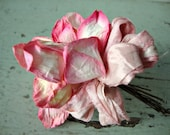 NEW Spring Pink Millinery Flower Posy
