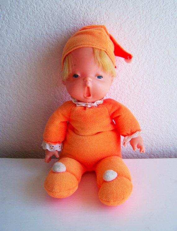 Vintage Baby Beans Bedsie Doll 1970 12 By Moonkittenstimeline