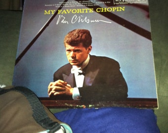 Vintage lp  Van Cliburn My Favorite Chopin Ginger Cover Classical Romantic 1961 Living Stereo