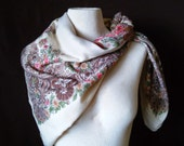X-tra Large Silky Square Shawl / Scarf