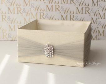 Custom Wedding Program Box/ Bubble Box