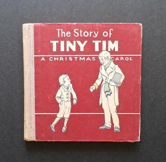 The Story of Tiny Tim A Christmas Carol Antiquarian Book