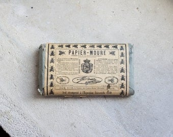 Antique French Fly Papers // 1900 Paper Ephemera