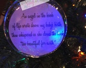Angel in the book of life ornament