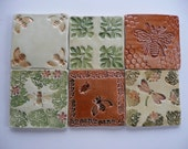 Handmade Ceramic Tiles - Honeybee Designs