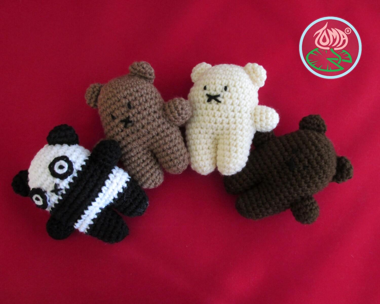 Amigurumi Mini Bear : Amigurumi Mini Bear