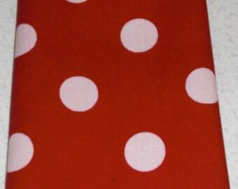 """15.5"""" x 15.5"""" Red and White Polka Dot Napkins"""