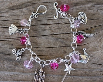 LITTLE GIRL PRINCESS Charm Bracelet, by Okrrah