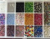 Mixed Beads in Container Destash Bundles