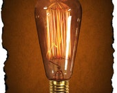 Edison Bulbs - Authentic vintage styled bulbs for your industrial, steampunk, rustic or victorian style light fixtures