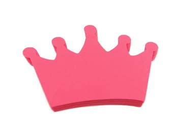 Crown Paper Cut Outs set of 25