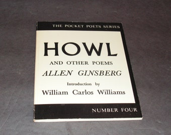 Allen Ginsberg- Howl- Signed!