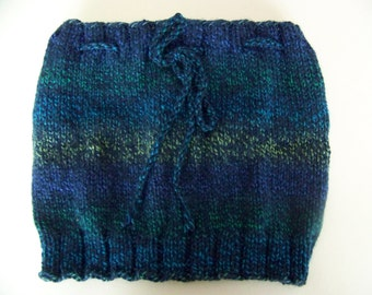Hand Knit Neck Warmer - Soft Merino - Machine washable