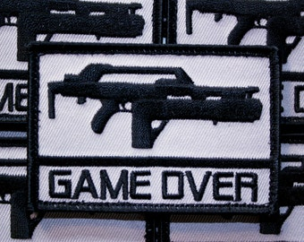Game Over Patch - Inspired by Aliens Pulse Rifle