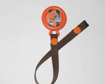 Cleveland Browns Pacifier Clip