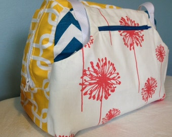 Diaper Bag or Travel Satchel - Custom