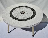 Mid Century Mosaic Coffee Table