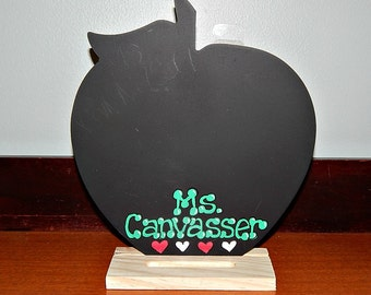 Apple Shaped Chalkboard