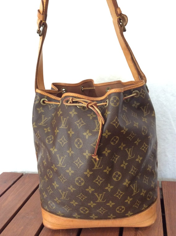 vintage authentic louis vuitton malletier brown monogram