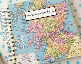 Travel Journal for Scotland, United Kingdom, England, Ireland, London