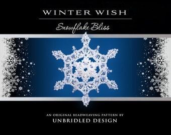 Winter Wish Beaded Snowflake pdf tutorial