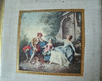 Vintage Florentine Wall Art Made In Italy