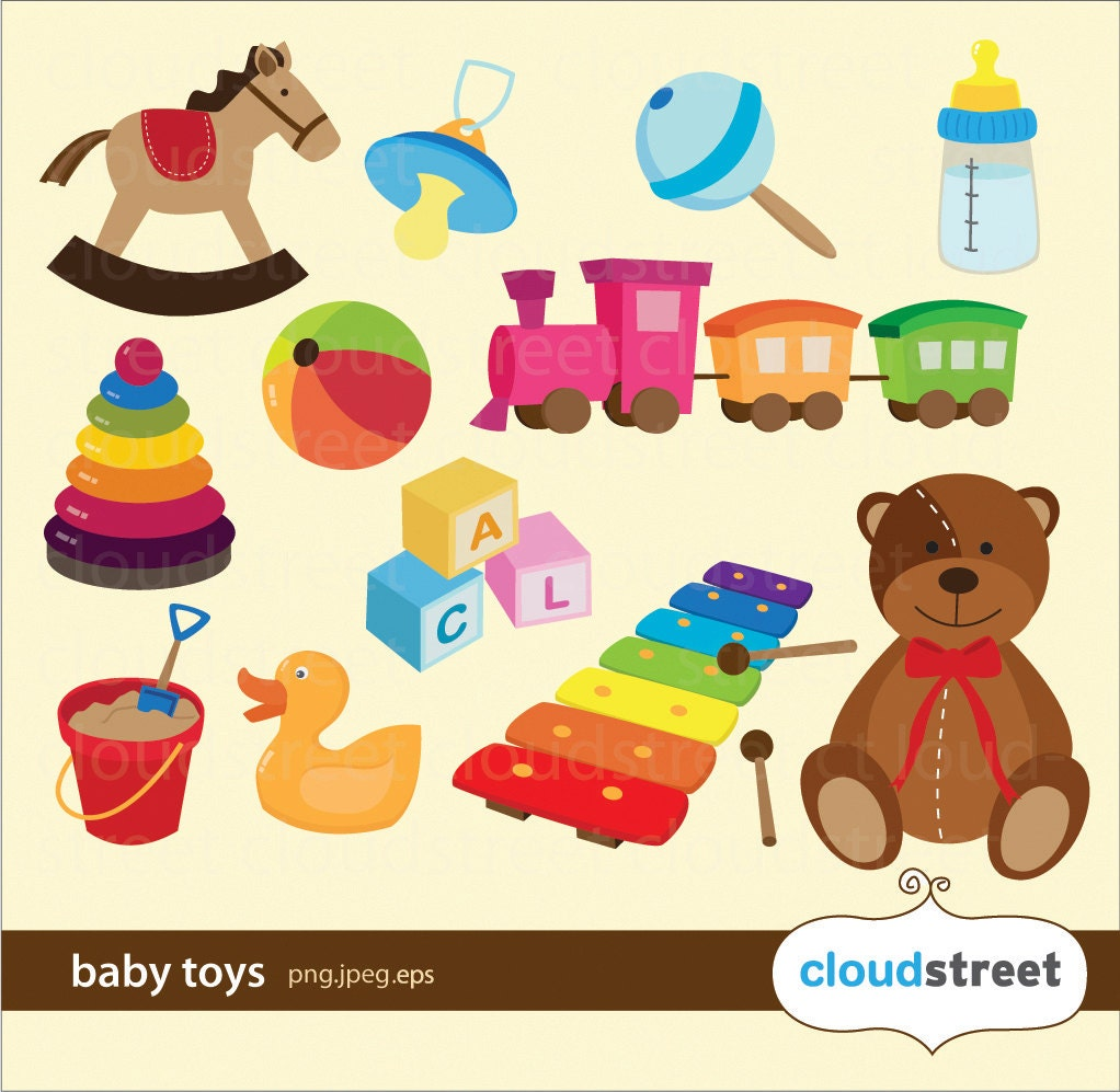 Baby Toy Commercial : Off baby toys clipart for personal and commercial use